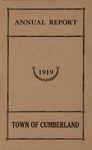Town of Cumberland, Maine, Annual Report 1919
