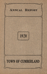 Town of Cumberland, Maine, Annual Report 1920