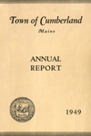 Town of Cumberland, Maine, Annual Report 1949