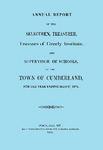 Town of Cumberland, Maine, Annual Report 1874