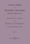 Town of Cumberland, Maine, Annual Report 1881