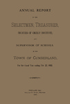 Town of Cumberland, Maine, Annual Report 1882
