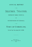 Town of Cumberland, Maine, Annual Report 1884