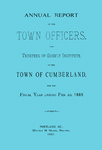 Town of Cumberland, Maine, Annual Report 1885