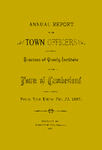 Town of Cumberland, Maine, Annual Report 1887