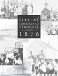 1896 List of Students in Cumberland Schools 2nd Edition by Thomas C. Bennett