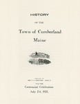 History of the Town of Cumberland, Maine by Mary E. Sweetser