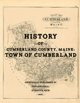 History of Cumberland County, Maine: Town of Cumberland