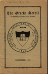The Greely Scroll December 1920 by Greely Institute