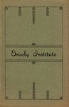Catalogue and Circular of Greely Institute 1901-1902