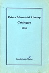 Prince Memorial Library Catalogue 1936 by Prince Memorial Library