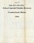 School Agents' Census Returns, Cumberland, Maine, 1884