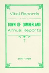 Vital Records from Town of Cumberland Annual Reports