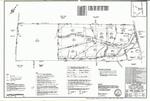 Plan of Sunnyfield Farm Subdivision, Blanchard Road, Cumberland, Maine, 1994