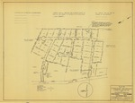 Plat of Foreside Meadows, Foreside Road and Heritage Lane, Cumberland, Maine, 1965