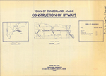 Cumberland Foreside Reservoir Contract Drawings, 1979