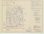 Plan of Cumberland Hills and Cumberland Hills II, Tuttle Road, Middle Road and Friar Lane, Cumberland, Maine, 1979