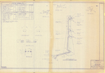 Plan of New England Telephone Co. Radio Relay Towers, Cumberland, Maine, 1982