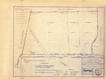 Plan of Property for Randy Bowden, Pleasant Valley Road, Cumberland, Maine, 1984