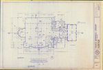 Plan of Construction for Prince Memorial Library Addition, Main Street, Cumberland, Maine, 1986