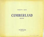 Property Maps, Cumberland, Maine, 1963
