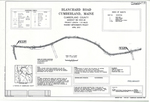 Plan of Blanchard Road Roadway Improvements Project, Cumberland, Maine, April 2013