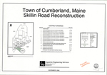 Plan of Skillin Road Reconstruction, Cumberland, Maine, 2006