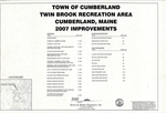 Plan of Twin Brook Recreation Area Improvements, Tuttle Road, Cumberland, Maine, 2007