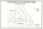 Plan of Castlerock Business Park, Gray Road, Cumberland, Maine, 2008