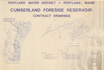 Cumberland Foreside Reservoir Contract Drawings and Reservoir Apurtenances, Cumberland, Maine, 1980