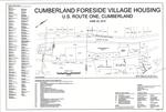 Plan of Cumberland Foreside Village Housing, U.S. Route 1, Cumberland, Maine, 2015