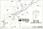 Plan of Maritimes and Northeast Pipeline, Proposed Northern Alternate, Cumberland, Maine, 1997