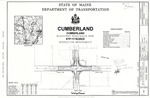 Plan of Blackstrap Road and Skillin Road Intersection Improvements, Cumberland, Maine, 2004
