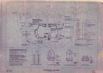 Landscape Plan of Cumberland Town Hall, Tuttle Road, Cumberland, Maine, 1998 by Orcutt Associates