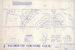 Plan of Falmouth Country Club, Cumberland, Maine, 1986