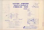 Plan of Glenview Subdivision, Cumberland, Maine, 1987