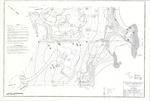 Existing Conditions Plan of Lantern Lane and Stornoway Road, Cumberland, Maine, 2001