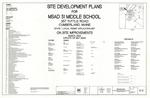 Site Development Plans for MSAD 51 Middle School Plan, Tuttle Road, Cumberland, Maine, 2002