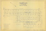 Plan of Pinewood Acres, Section B, Cumberland, Maine, 1959
