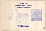 Plan of Wildwood Storm Drainage, Cumberland, Maine, 1987