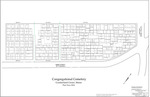Plan of Congregational Cemetery, Main Street, Cumberland, Maine, 2016 by Topographix LLC