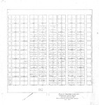 Plan of Moss Side Cemetery, Main Street, Cumberland, Maine, 1937