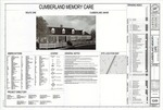 Plan of Cumberland Memory Care, Part 1, US Route 1, Cumberland, Maine, 2016