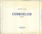 Property Tax Maps, Cumberland, Maine, 1990