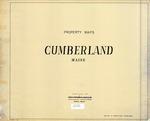Property Tax Maps, Cumberland, Maine, 1980