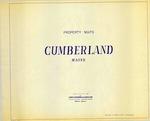 Property Maps, Cumberland, Maine, 1967