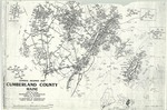 General Highway Map, Cumberland County, Maine