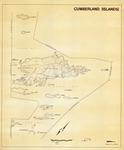 Cumberland Islands Zoning Map, Cumberland, Maine, 1988