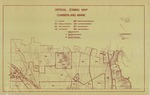 Official Zoning Map, Cumberland, Maine, 1989