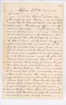 1863-03-27  Lieutenant E.M. Shaw to Adjutant General Hodsdon regarding receipt of telegram